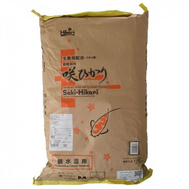 Hikari Saki-Hikari Multi-Season Koi Fish Food - 33 lbs