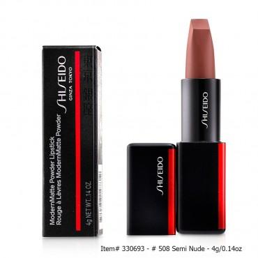 Shiseido - Modernmatte Powder Lipstick  505 Peep Show Tea Rose 4g 0.14oz
