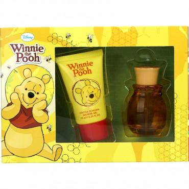 Winnie The Pooh - Set Fragrance Alcohol Free Spray 1.7 oz And Shower Gel 2.5 oz