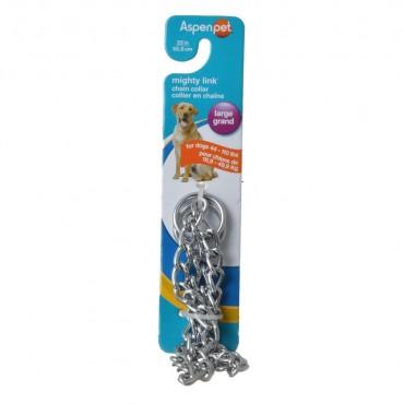 Aspen Pet Choke Chain - Heavy - 22 Neck