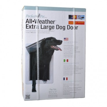 Perfect Pet All Weather Pet Door - X-Large - 9.75W x 17H