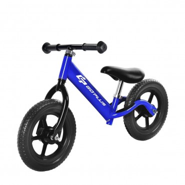 Blue 12 In. Balance Kids No - Pedal Learning Bicycle