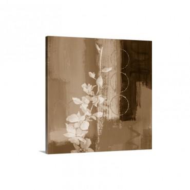 Mediterranean Floral I I Wall Art - Canvas - Gallery Wrap