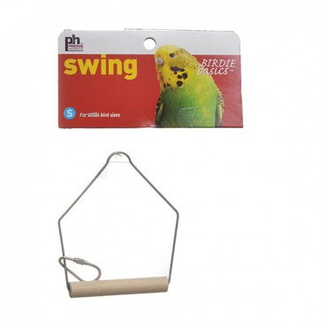 Prevue Birdie Basics Swing - Small Birds - 3 in. L x 4 in. H - 5 Pieces