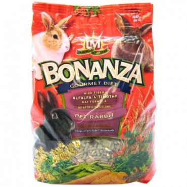 LM Animal Farms Bonanza Rabbit Gourmet Diet - 4 lbs