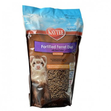 Kaytee Fortified Ferret Diet with Real Turkey - 4 lbs
