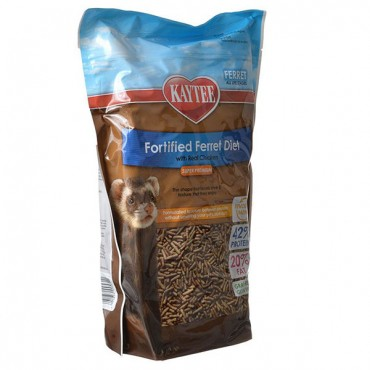 Kaytee Fortified Ferret Diet with Real Chicken - 4 lbs
