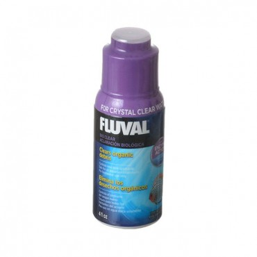 Fluval Bio Clear - 4 oz - 120 ml - Treats 240 Gallons - 2 Pieces