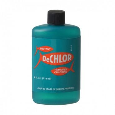 Weco Instant De-Chlor Water Conditioner - 4 oz - 4 Pieces