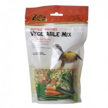 Zilla Reptile Munchies - Vegetable Mix - 4 oz