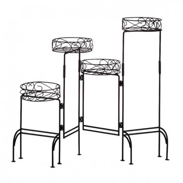 4 Tier Metal Plant Stand