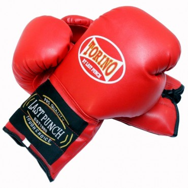 14 oz Red Torino Boxing Gloves Heavy Duty