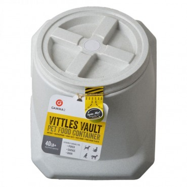 Vittles Vault Airtight Pet Food Container - Stackable - 40 lb Capacity