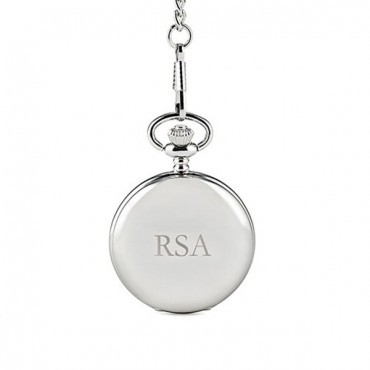 Silver Plated Pocket Watch