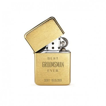 Classic Lighter - Best Groomsman Ever Etching