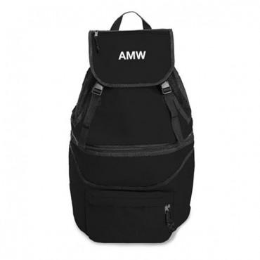 Expandable Cooler Backpack - Black