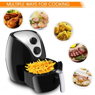 1500W Electric Air Fryer Cooker With Rapid Air Circulation System