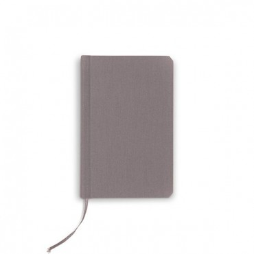 Charcoal Linen Pocket Journal