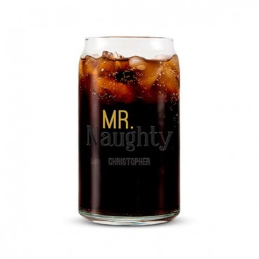 Can Shaped Glass Personalized - Mr. Naughty Printing