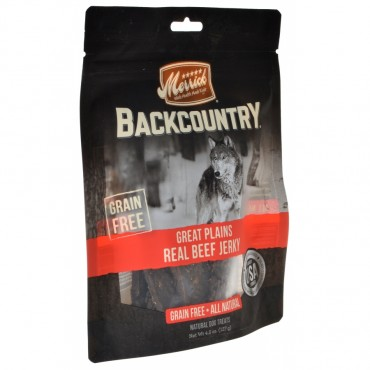 Merrick Backcountry Great Plains Real Beef Jerky - 4.5 oz