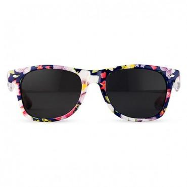 Floral Print Women's Sunglasses - 4 Pieces