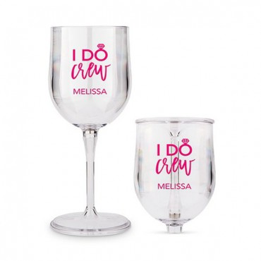 Portable Nesting Wine Glass - I Do Crew