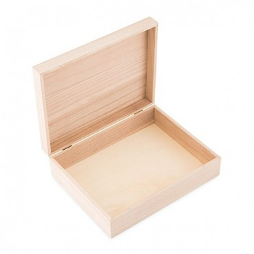 Personalized Wooden Keepsake Gift Box With Hinged Lid - Bistro Bliss Etch