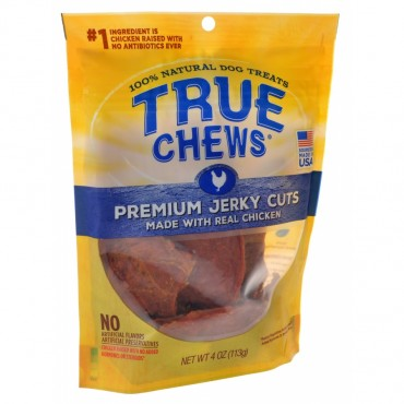 True Chews Premium Jerky Cuts with Real Chicken - 4 oz