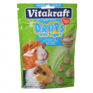 VitaKraft Yogurt Drops for Guinea Pigs - 5.3 oz - 2 Pieces