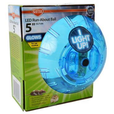 Kaytee LED Run-About Ball - 5 in.  Diameter