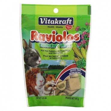 VitaKraft Raviolos Crunchy Treat for Small Animals - 5 oz - 2 Pieces