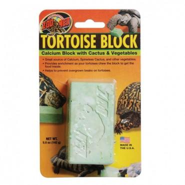 Zoo Med Tortoise Banquet Block - 5 oz - 4 Pieces