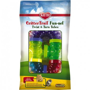 Kaytee Critter Trail Fun-nels Value Pack - 5 Pack - Assorted Tubes