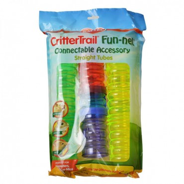 Kaytee Critter Trail Tubes Value Pack - 5 Pack - Assorted Tubes