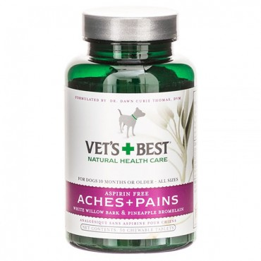 Vets Best Aches & Pains Relief for Dogs - 50 Tablets