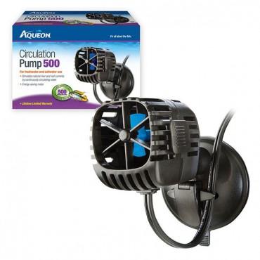 Aqueous Circulation Pump - 500 GP H - 20-40 Gallon Aquariums - 2.6 Watts