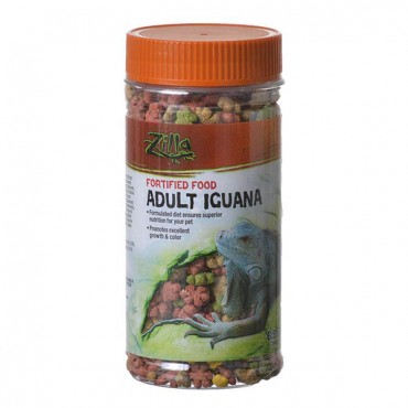 Zilla Fortified Food for Adult Iguanas - 6.5 oz - 2 Pieces