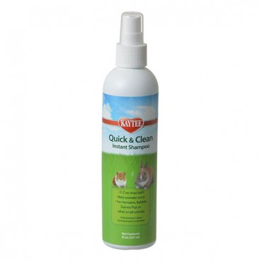 Kaytee Quick and Clean Instant Small Pet Shampoo - 6 oz