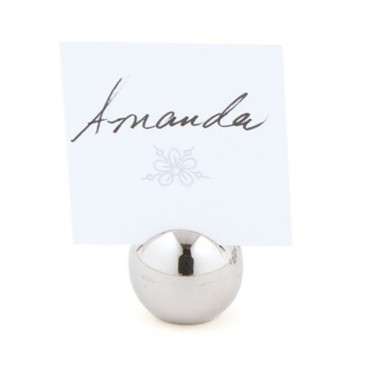 Classic Round Place Card Holder