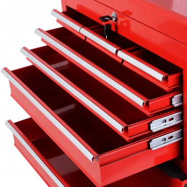 Removable Top Chest Box Rolling Tool Storage