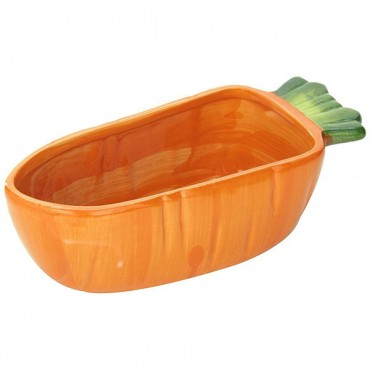 Kaytee Veg-T-Bowl - Carrot - 7.5 in. Long - 2 Pieces