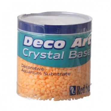 Red Sea Deco Art Crystal Base for Aquariums - Coral - 7.5 oz - 10 Pieces