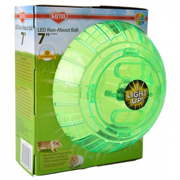 Kaytee LED Run-About Ball - 7 in. Diameter