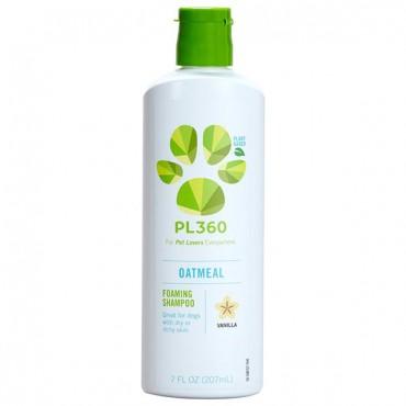 PL360 Oatmeal Foaming Shampoo - Vanilla Scent - 7 oz - 2 Pieces