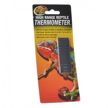 Zoo Med High Range Reptile Thermometer - 70-105 Degrees F - 5 Pieces