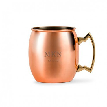 Classic Initials Personalized Moscow Mule Mug