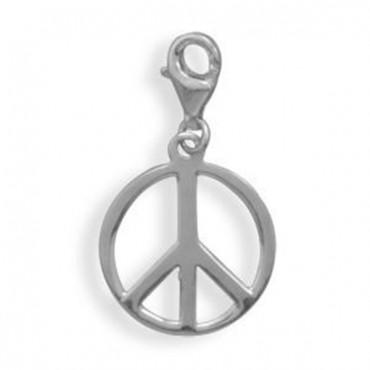 Peace Sign Charm