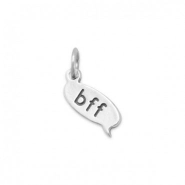 Bff Text Message Charm