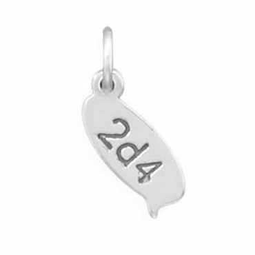 2d4 Text Message Charm