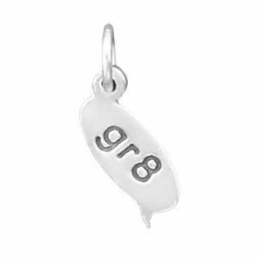 Gr8 Text Message Charm